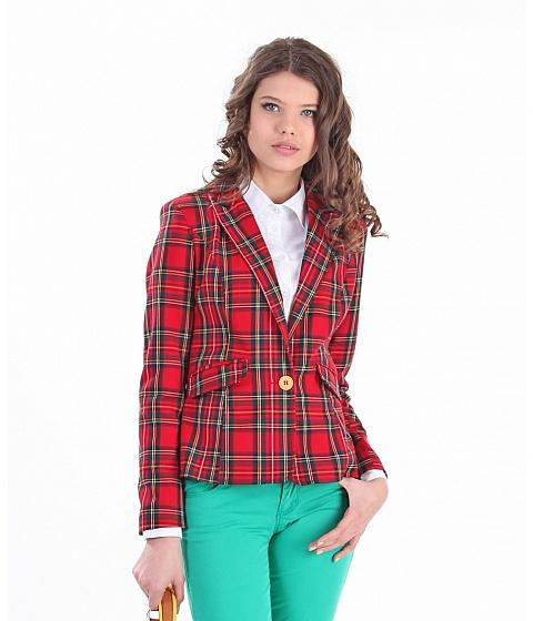 Imbracaminte Femei Be You Sacou rosu carouri scotiene Multicolor