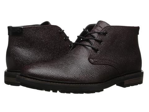 Incaltaminte Barbati Calvin Klein Tezer Brown Textured Leather