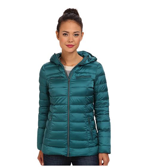 Imbracaminte Femei Cole Haan Sweater Down Light Weight Packable w Hood Shaded Spruce