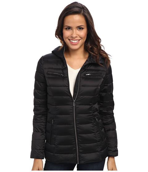 Imbracaminte Femei Cole Haan Sweater Down Light Weight Packable w Hood Black