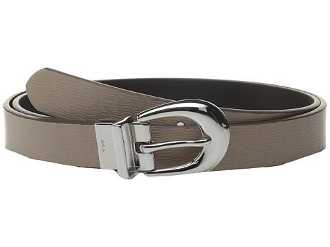 Accesorii Femei LAUREN Ralph Lauren 1quot Saffiano to Smooth Reversible Belt PorciniBlack