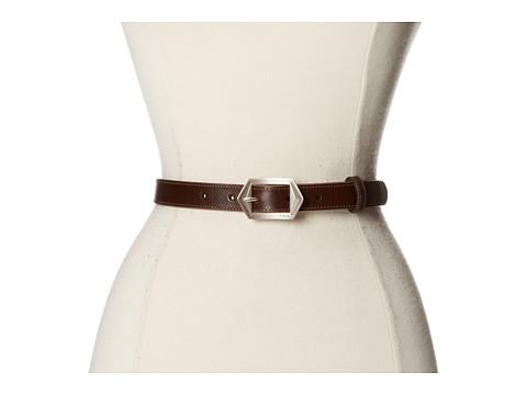 Accesorii Femei LAUREN Ralph Lauren 78quot Vachetta Belt w Southwestern Buckle TMoro