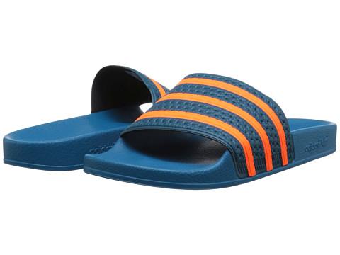 Incaltaminte Barbati Adidas Originals adilette Surf PetrolSolar OrangeSurf Petrol