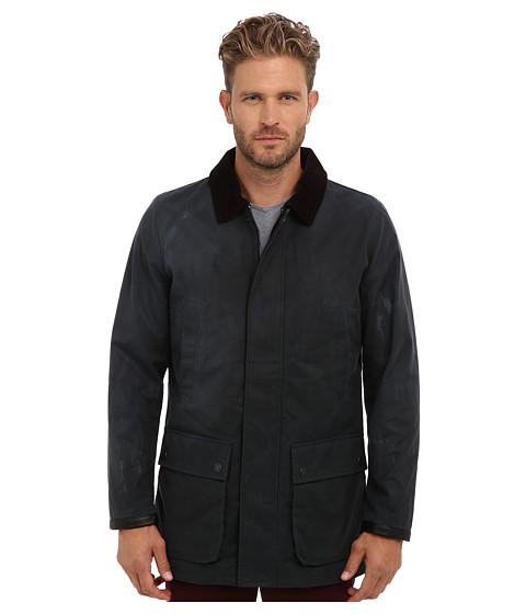 Imbracaminte Barbati Vince Camuto Classic Barn Jacket With Corduroy Collar Navy