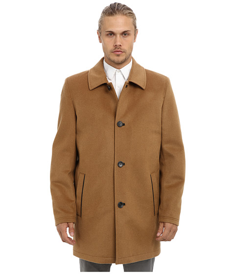 Imbracaminte Barbati Vince Camuto Storm System Wool Melton Carcoat Camel