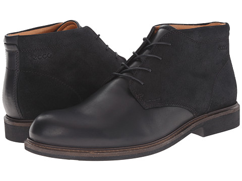 Incaltaminte Barbati ECCO Findlay Chukka Boot BlackBlack