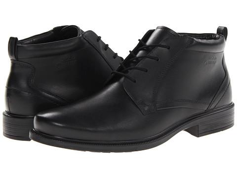 Incaltaminte Barbati ECCO Dublin Plain Toe Tie Boot GTX Black Luxe