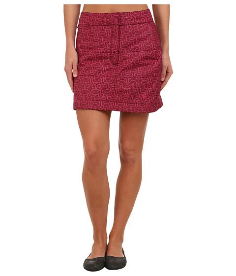 Imbracaminte Femei Mountain Hardwear Trekkintrade Printed Skirt Rich Wine