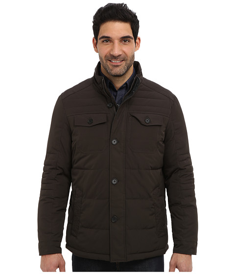 Imbracaminte Barbati Perry Ellis Quilted Four Pocket Jacket EP822679 Brolive