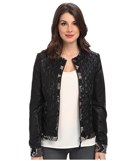 Imbracaminte Femei Desigual Lisboa Woven Overcoat Jacket Black
