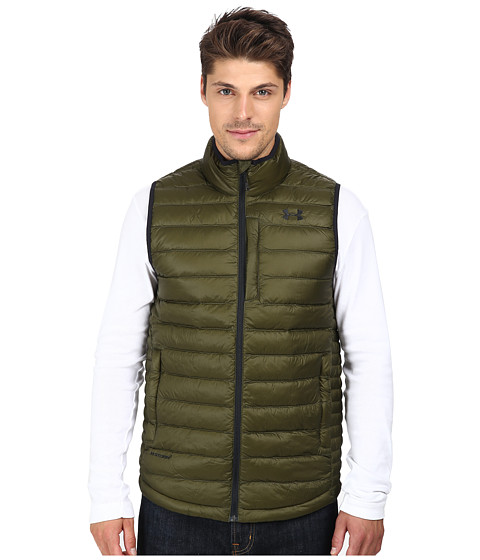 Imbracaminte Barbati Under Armour UA Coldgear Infrared Turing Vest Greenhead