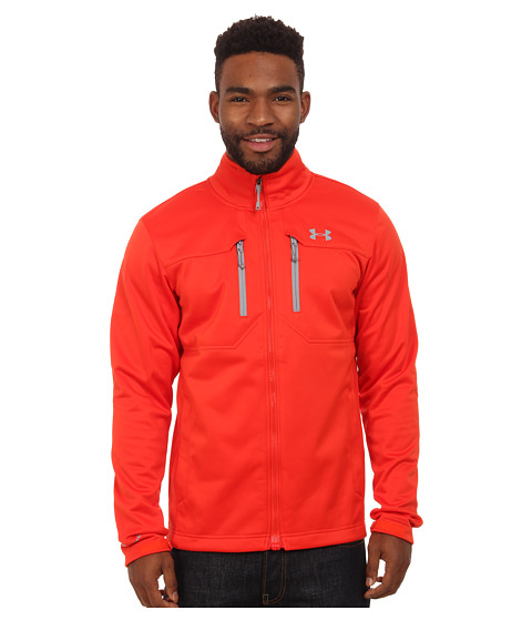 Imbracaminte Barbati Under Armour UA Coldgear Infrared Softershell Jacket Fuego