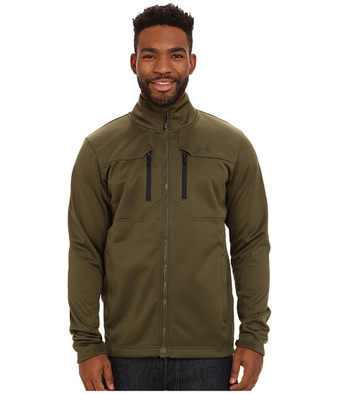 Imbracaminte Barbati Under Armour UA Coldgear Infrared Softershell Jacket Greenhead