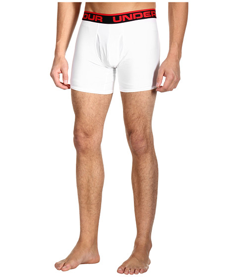 Imbracaminte Barbati Under Armour The Original 6quot Boxerjockreg Boxer Brief WhiteRed