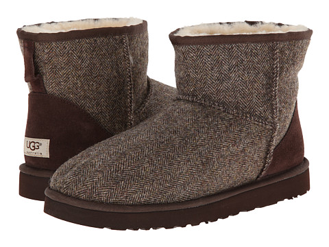 Incaltaminte Barbati UGG Classic Mini Tweed Stout Wool