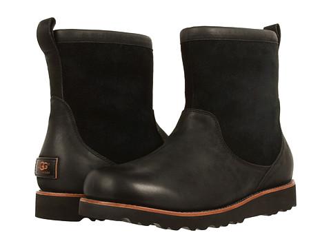 Incaltaminte Barbati UGG Munroe Black Leather