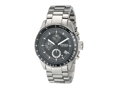 Ceasuri Barbati Fossil CH2600 Decker Chronograph Stainless Steel Watch BlackSilver