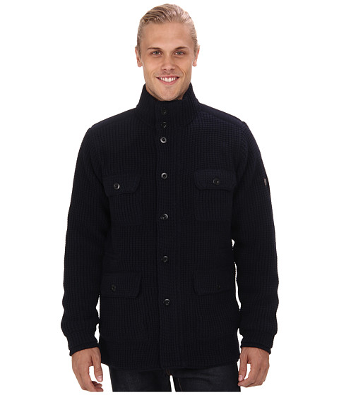 Imbracaminte Barbati Ben Sherman Four Pocket Knitted Jacket ME10981 Shadow Navy