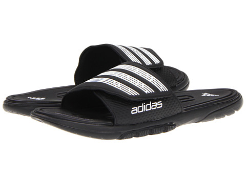 Incaltaminte Barbati adidas adilight SUPERCLOUDreg Slide BlackWhite