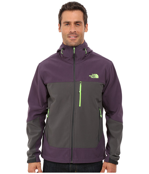 Imbracaminte Barbati The North Face Apex Bionic Hoodie Dark Eggplant PurpleAsphalt Grey