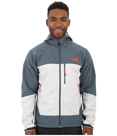 Imbracaminte Barbati The North Face Apex Bionic Hoodie Conquer BlueHigh Rise Grey