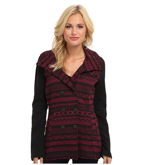 Imbracaminte Femei Hurley Winchester Fleece Jacket Deep Garnet Shapes