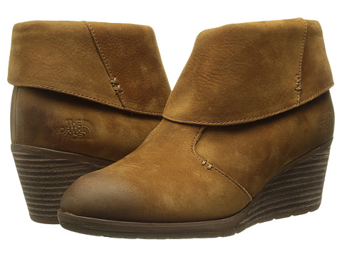 Incaltaminte Femei The North Face Bridgeton Wedge Bootie Sequoia RedCappuccino Brown (Prior Season)
