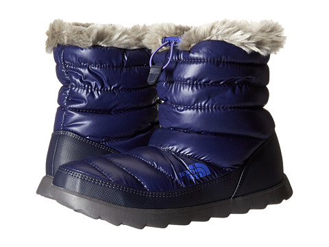 Incaltaminte Femei The North Face ThermoBalltrade Micro-Baffle Bootie Shiny Astral Aura BlueBlue Iris (Prior Season)