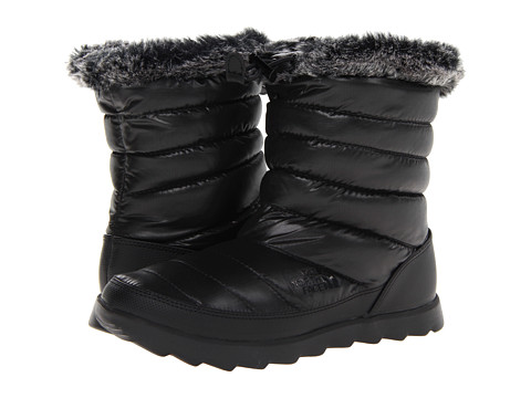 Incaltaminte Femei The North Face Thermoball Micro-Baffle Bootie Shiny TNF BlackTNF Black (Prior Season)