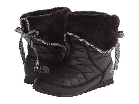 Incaltaminte Femei The North Face ThermoBalltrade Roll-Down Bootie II Shiny TNF BlackTNF Black (Prior Season)