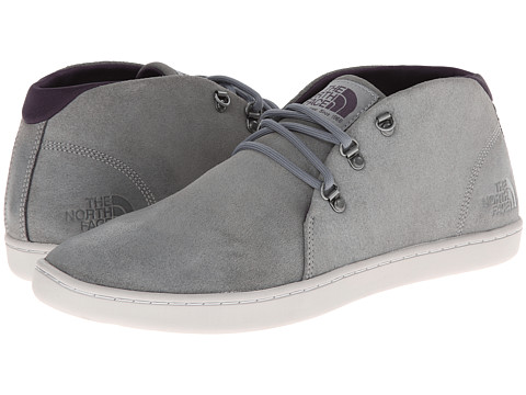 Incaltaminte Barbati The North Face Base Camp Leather Chukka Monument GreyDark Eggplant Purple