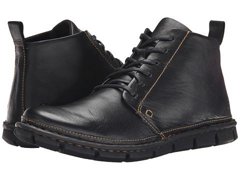 Incaltaminte Barbati Born Jax Black Full Grain Leather