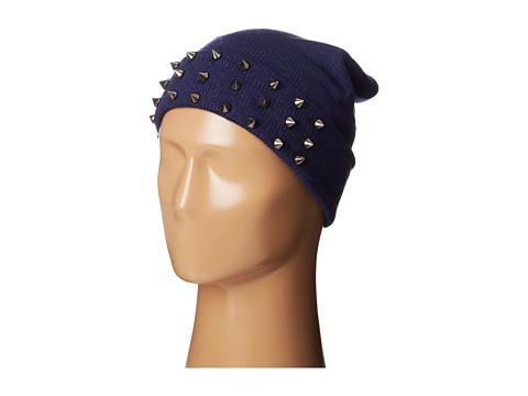 Accesorii Femei Steve Madden Spiked Cuff Hat Navy