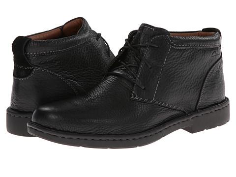 Incaltaminte Barbati Clarks Stratton Limit Black Leather
