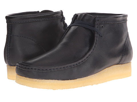 Incaltaminte Barbati Clarks Wallabee Boot Navy