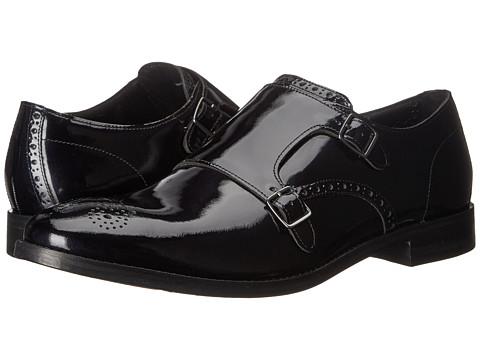Incaltaminte Barbati Cole Haan Cambridge Double Monk Black Patent