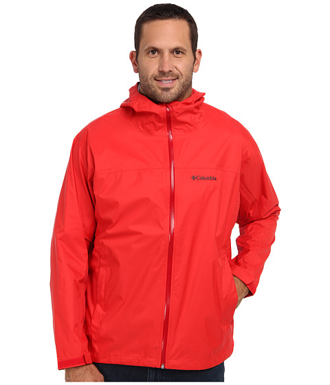 Imbracaminte Barbati Columbia EvaPOURationtrade Jacket - Extended Bright RedRocket Zip