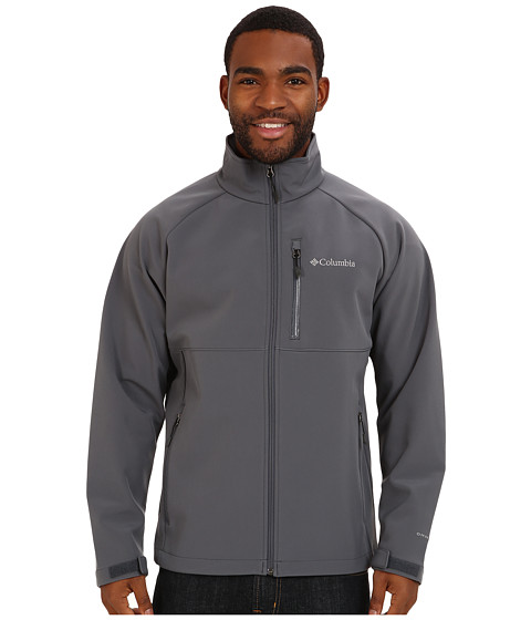 Imbracaminte Barbati Columbia Heat Modetrade II Softshell Jacket Graphite