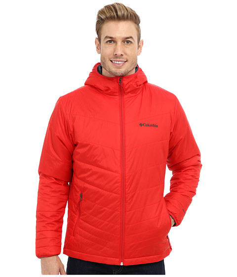 Imbracaminte Barbati Columbia Mighty Lighttrade Hooded Jacket Bright Red