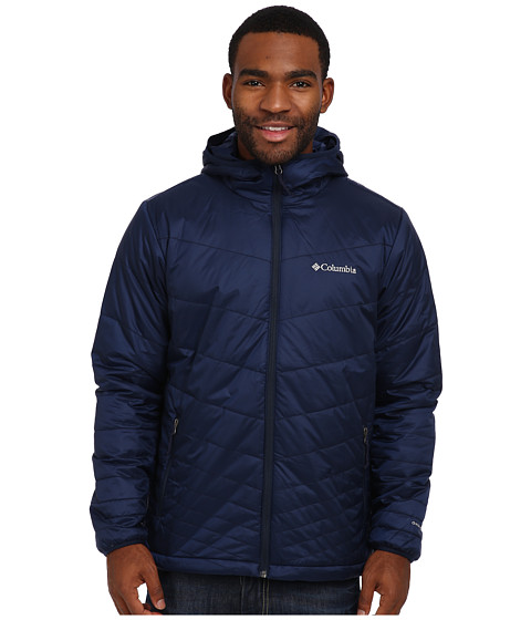 Imbracaminte Barbati Columbia Mighty Lighttrade Hooded Jacket Collegiate Navy
