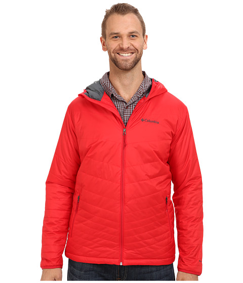 Imbracaminte Barbati Columbia Mighty Lighttrade Hooded Jacket - Extended Bright Red