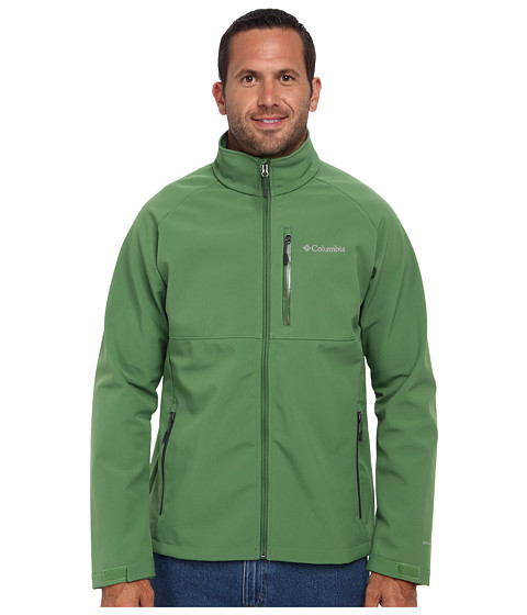 Imbracaminte Barbati Columbia Heat Modetrade II Softshell Jacket - Tall Dark BackcountryDark Moss Pop