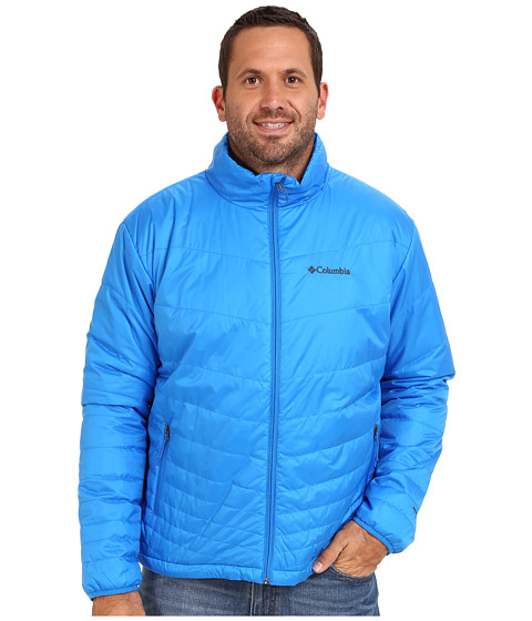 Imbracaminte Barbati Columbia Mighty Lighttrade Jacket - Extended Hyper Blue