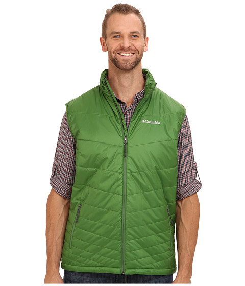 Imbracaminte Barbati Columbia Mighty Lighttrade Vest - Extended Dark Backcountry