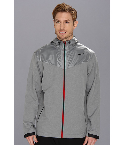 Imbracaminte Barbati Nike Sweatless Hooded Jacket Dark Grey HeatherMedium GreyBlack