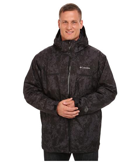 Imbracaminte Barbati Columbia Whirlibirdtrade Interchange Jacket - Extended BlackDigi CamoBlack