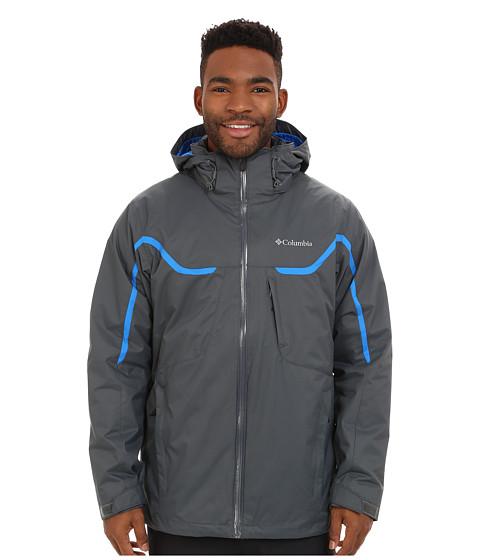 Imbracaminte Barbati Columbia Whirlibirdtrade Interchange Jacket GraphiteHyper BlueGraphite