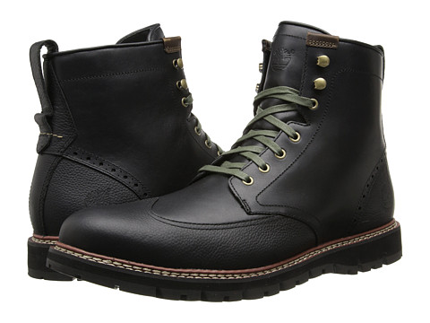Incaltaminte Barbati Timberland Earthkeepersreg Britton Hill Wing Tip Boot Waterproof Black Smooth