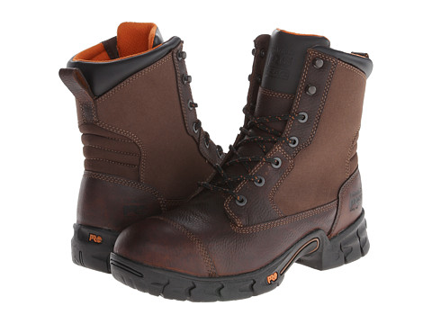 Incaltaminte Barbati Timberland Excave 8quot Steel Toe Brown