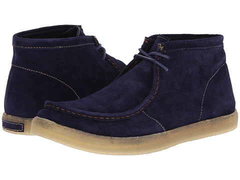 Incaltaminte Barbati Hush Puppies Aquaice Wallaboot Dark Blue Suede